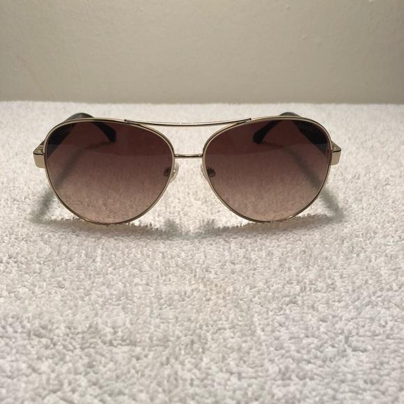 6820c7c02b60 CHANEL Accessories | 4195q C3953b Pilot Leather Sunglasses | Poshmark
